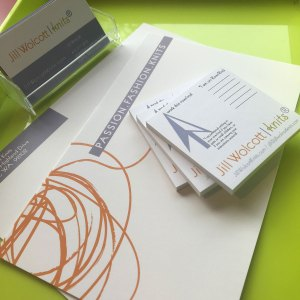 Grace: Ideas completed result in new stationery