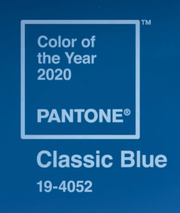 It had to be Classic Blue