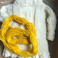 Catena Quarter-Scale: Ever knit up a quarter-scale to see what it is like? Try this.