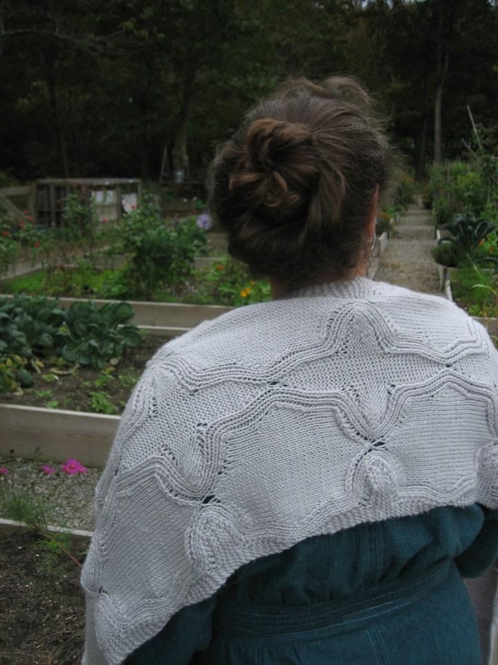 Christine Guest in the Garden