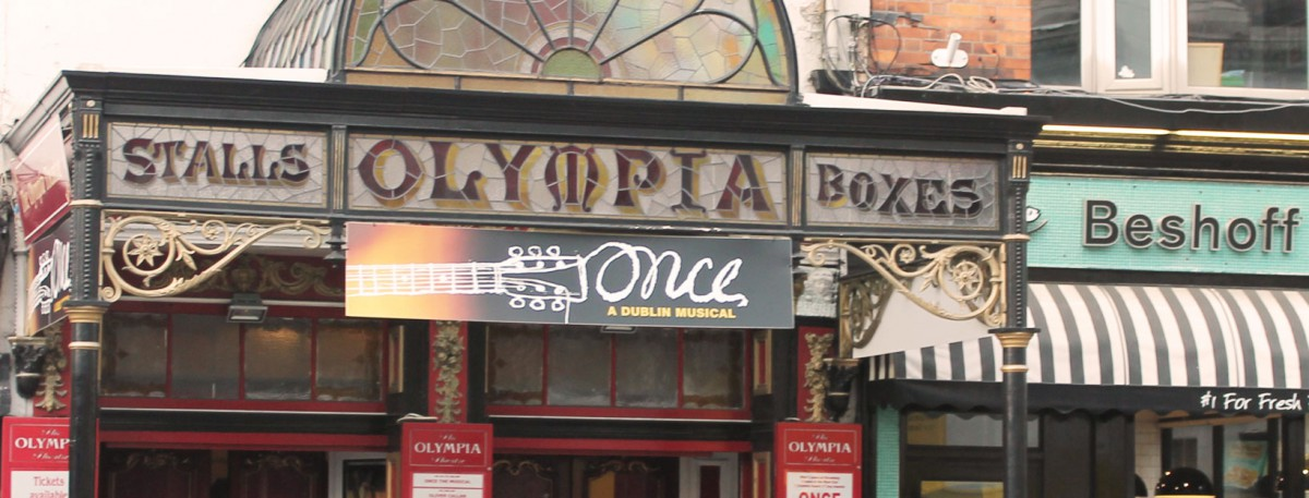 Once - Das Musical im Olympia Theatre Dublin