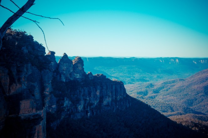 Three Sisters in den Blue Mountains