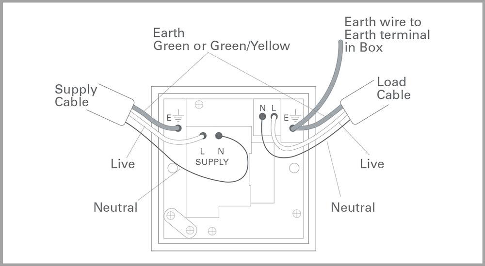 Kitchen Grid Switch Wiring Diagram