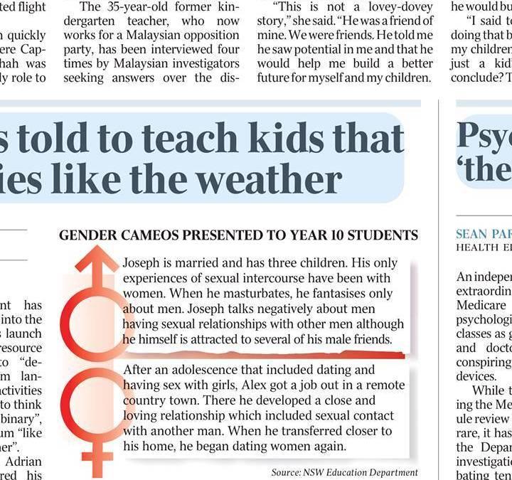 Sex Varies Like The Weather — The Australian