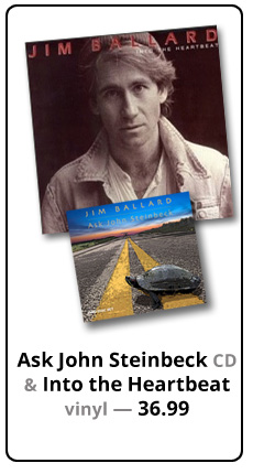 Buy Ask John Steinbeck CD AND Into the Heartbeat Album