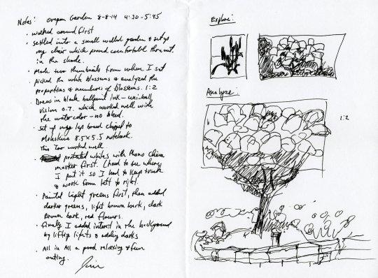 White Blossoms Notes
