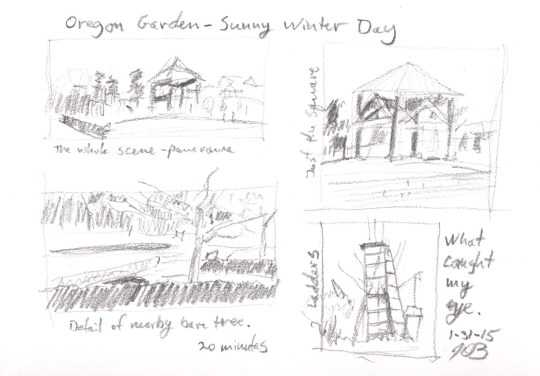 Oregon Garden Thumbnails
