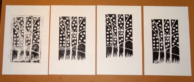 Birches Printed Edition