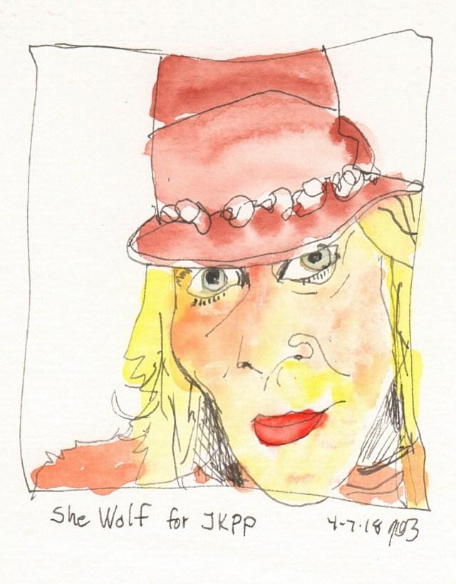 She Wolf Sketch