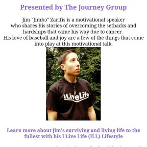 Jimbo Motivational Speaker at the Journey Group's Event