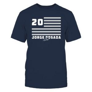 Jorge Posada - Flag Stripes