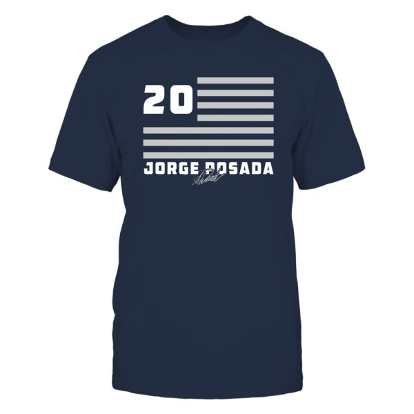 Jorge Posada - Flag Stripes