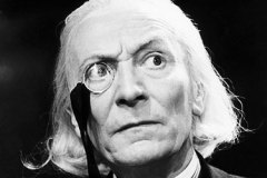 Dr Who actor William Hartnell in character