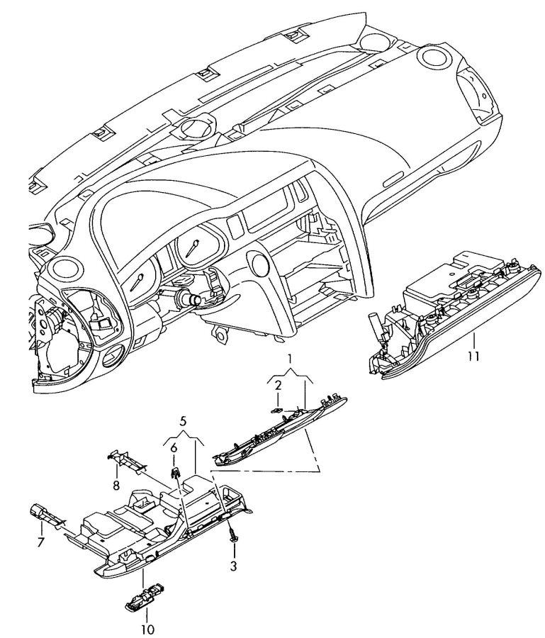 Audi A5 2009 Fuse Box