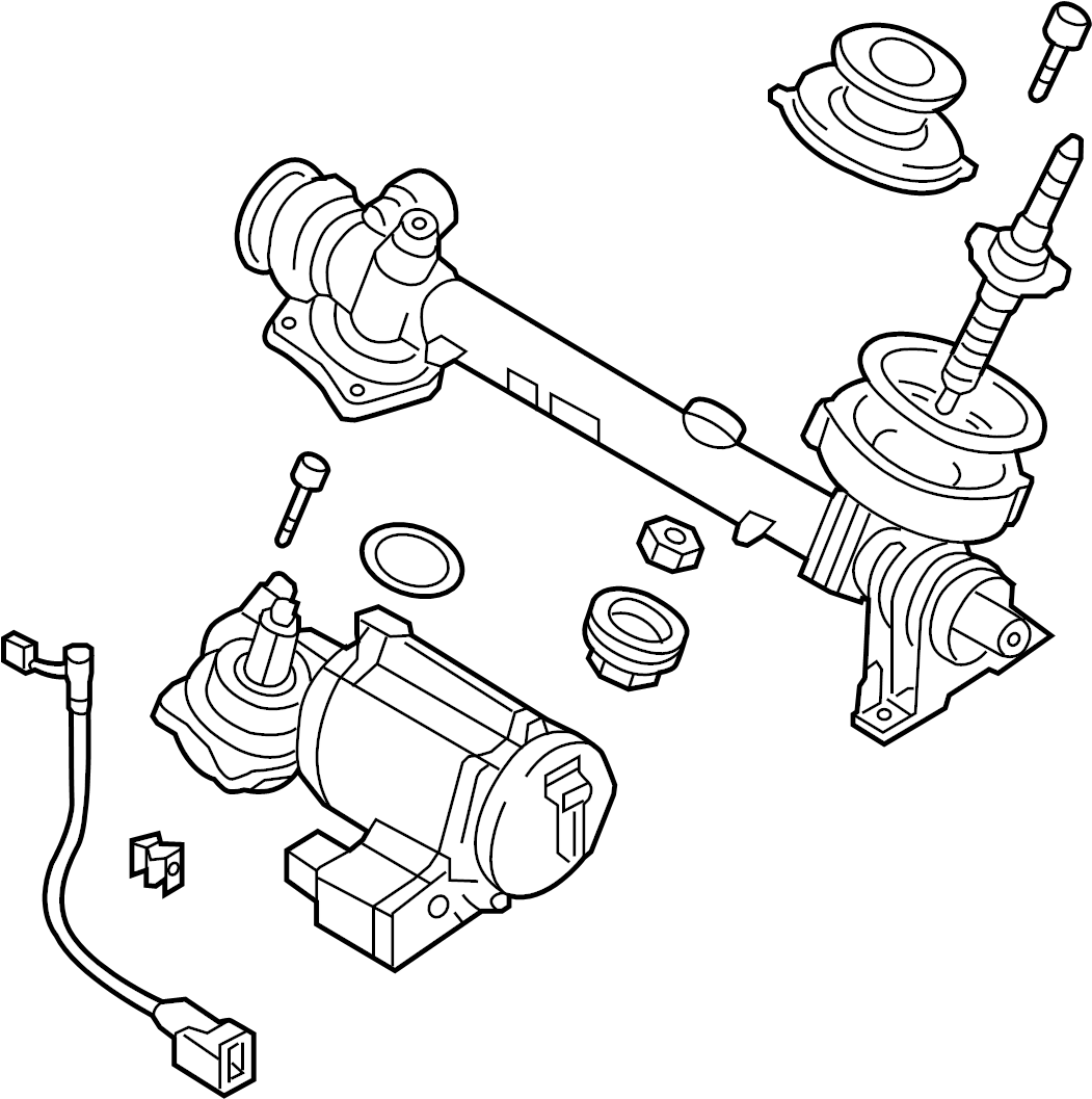 Audi A3 2 0l Steering Gear Also Use