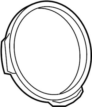 Audi SQ5 Ring Steering Wheel Trim Trim ring