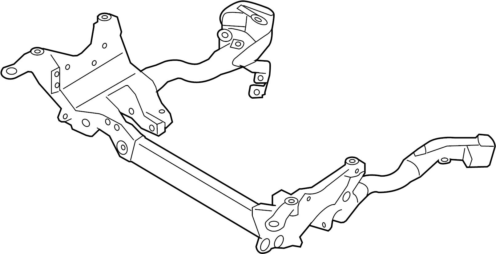 Audi A4 Engine Cradle Subframe