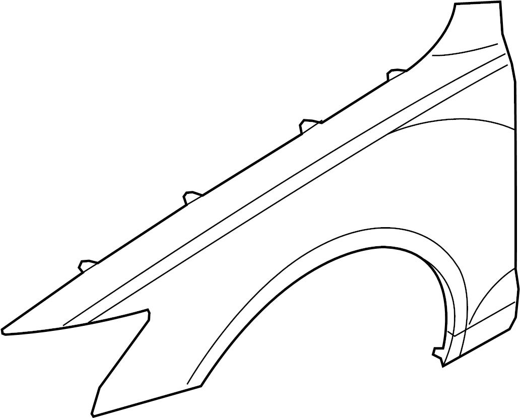 Audi A6 Fender Mud Guard