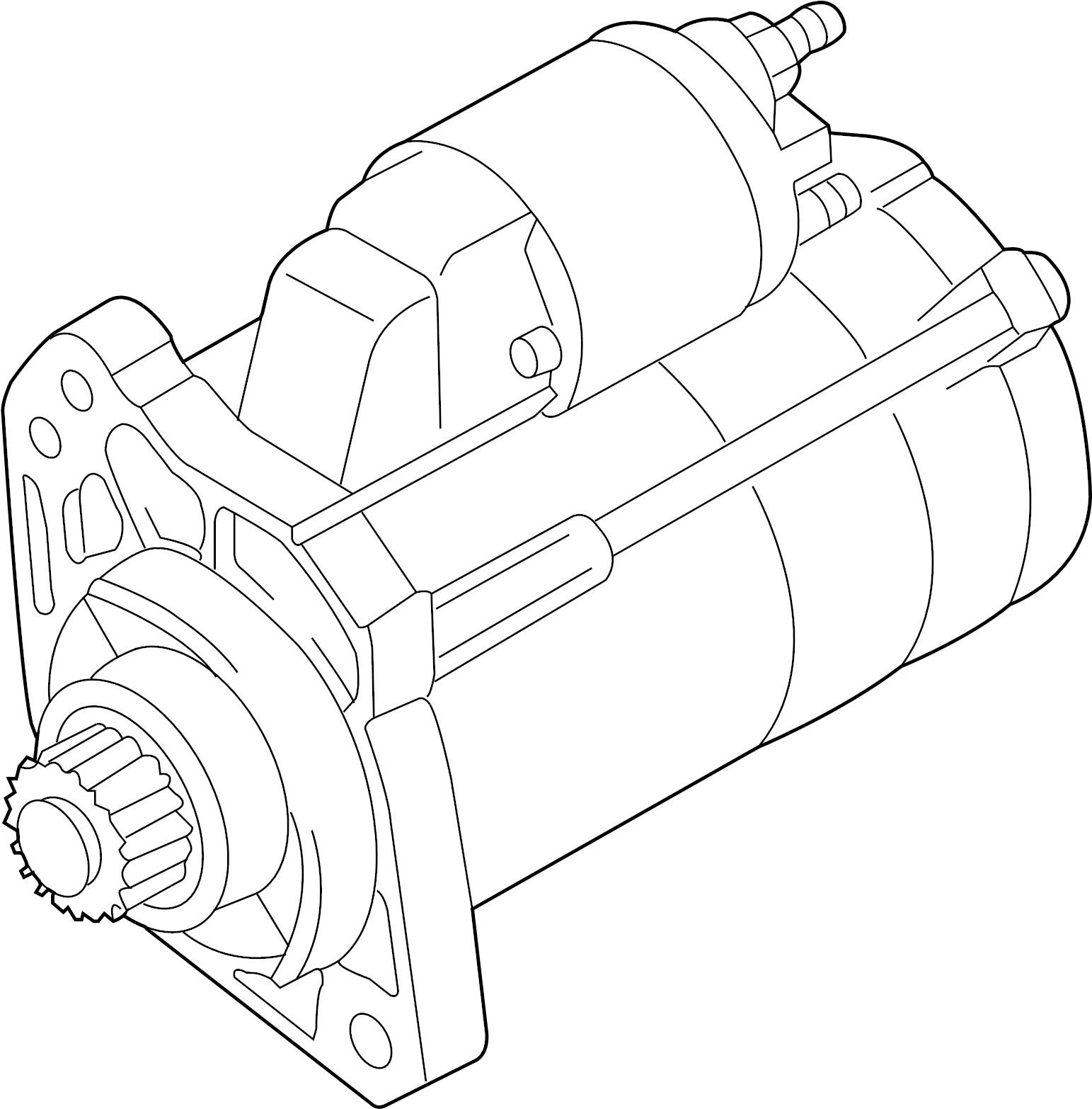Audi Q7 Starter Andor