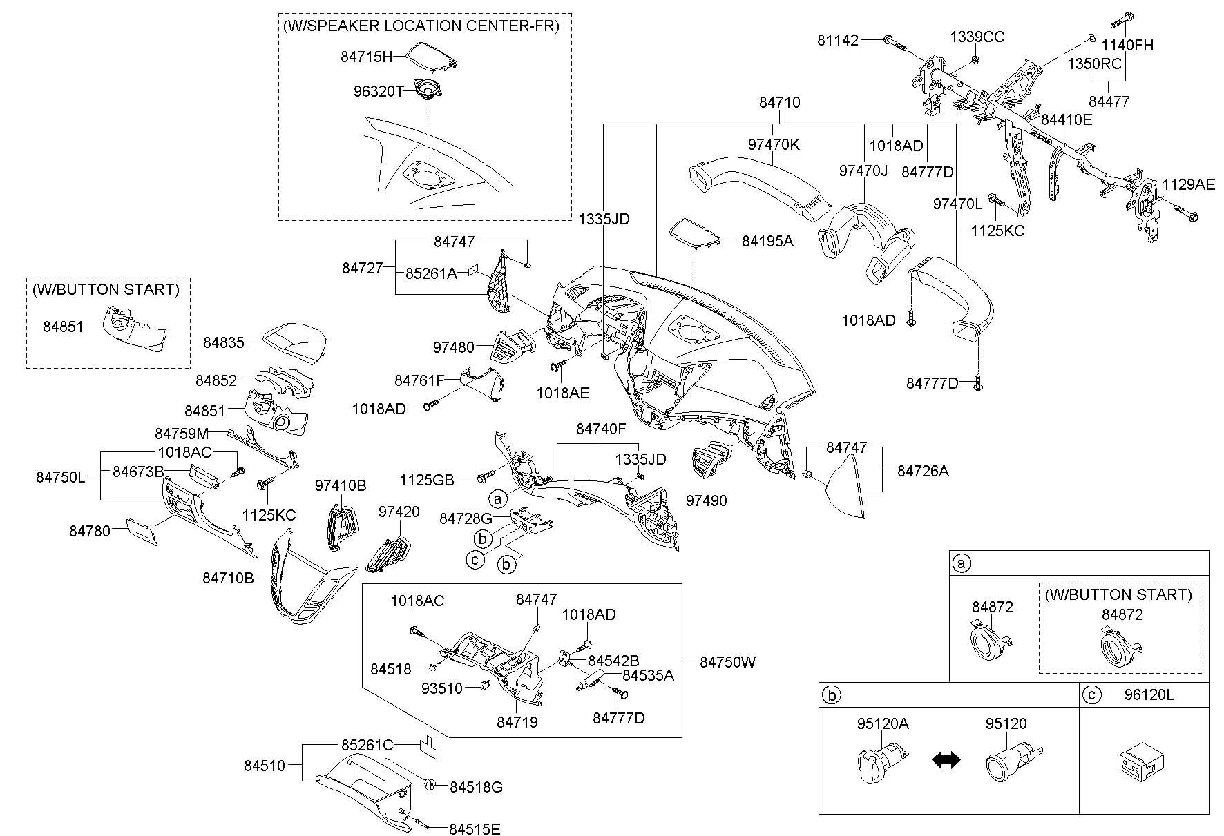 Hyundai Veloster Panel Assembly