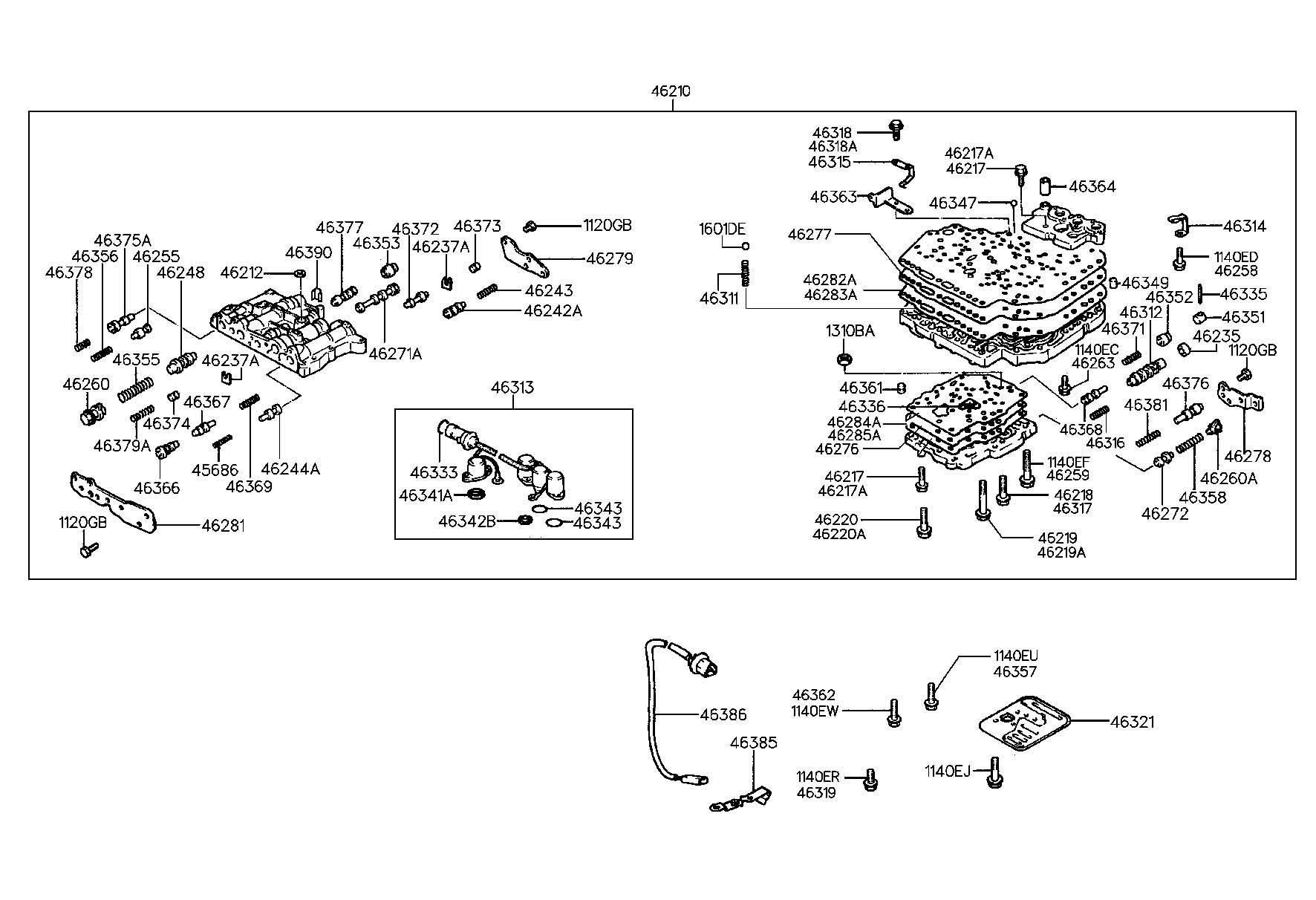 Hyundai Accent Sensor