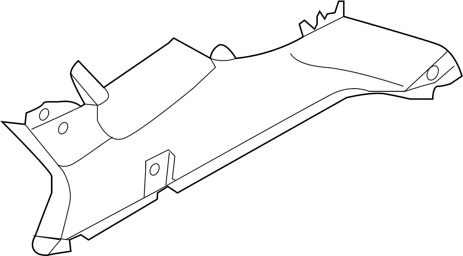 Hyundai Tucson Interior Quarter Panel Trim Panel