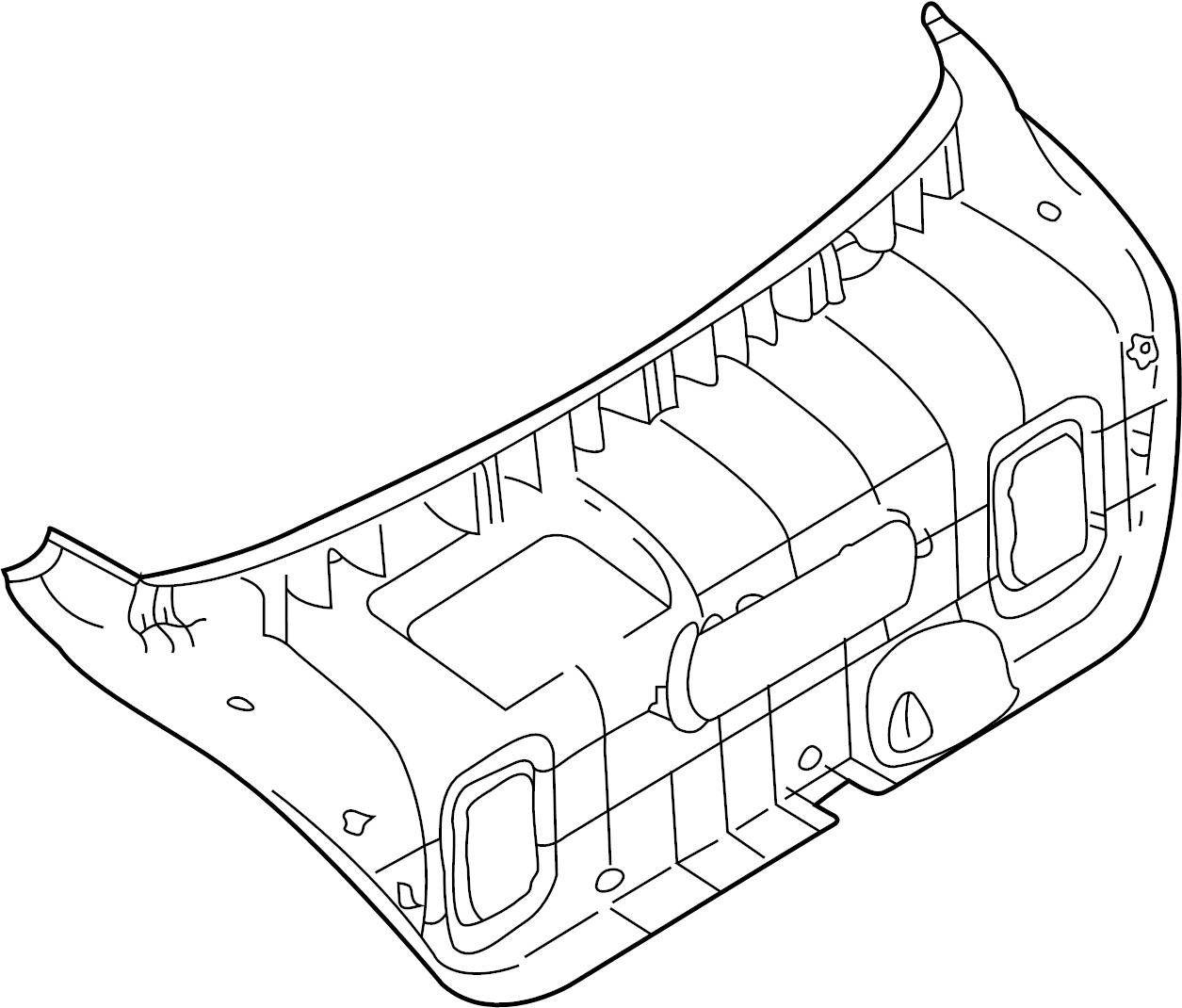 Hyundai Elantra Panel Assembly
