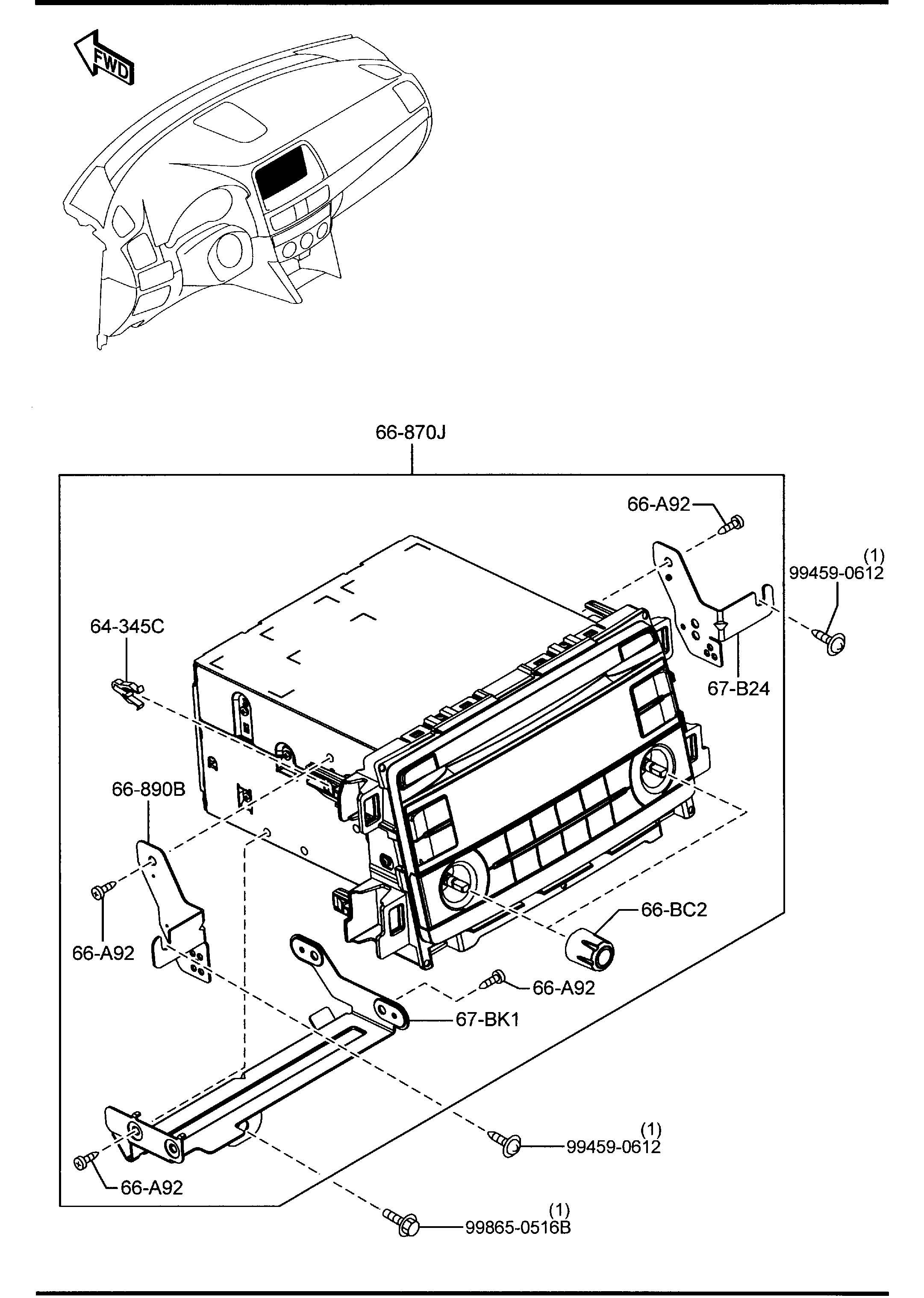 Mazda Cx 5 Audio Set