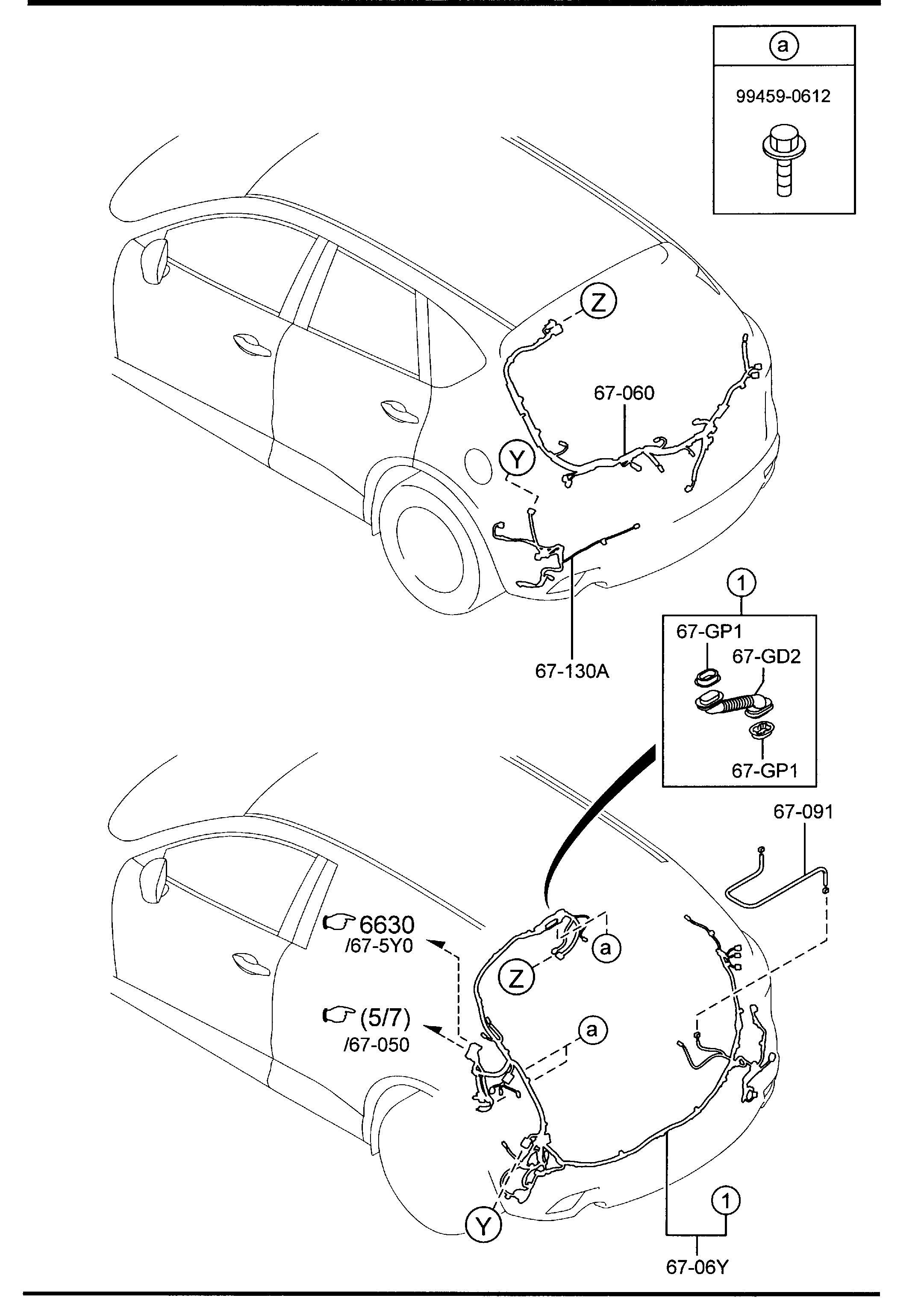 Mazda Cx 5 Block Main Fuse Compartment