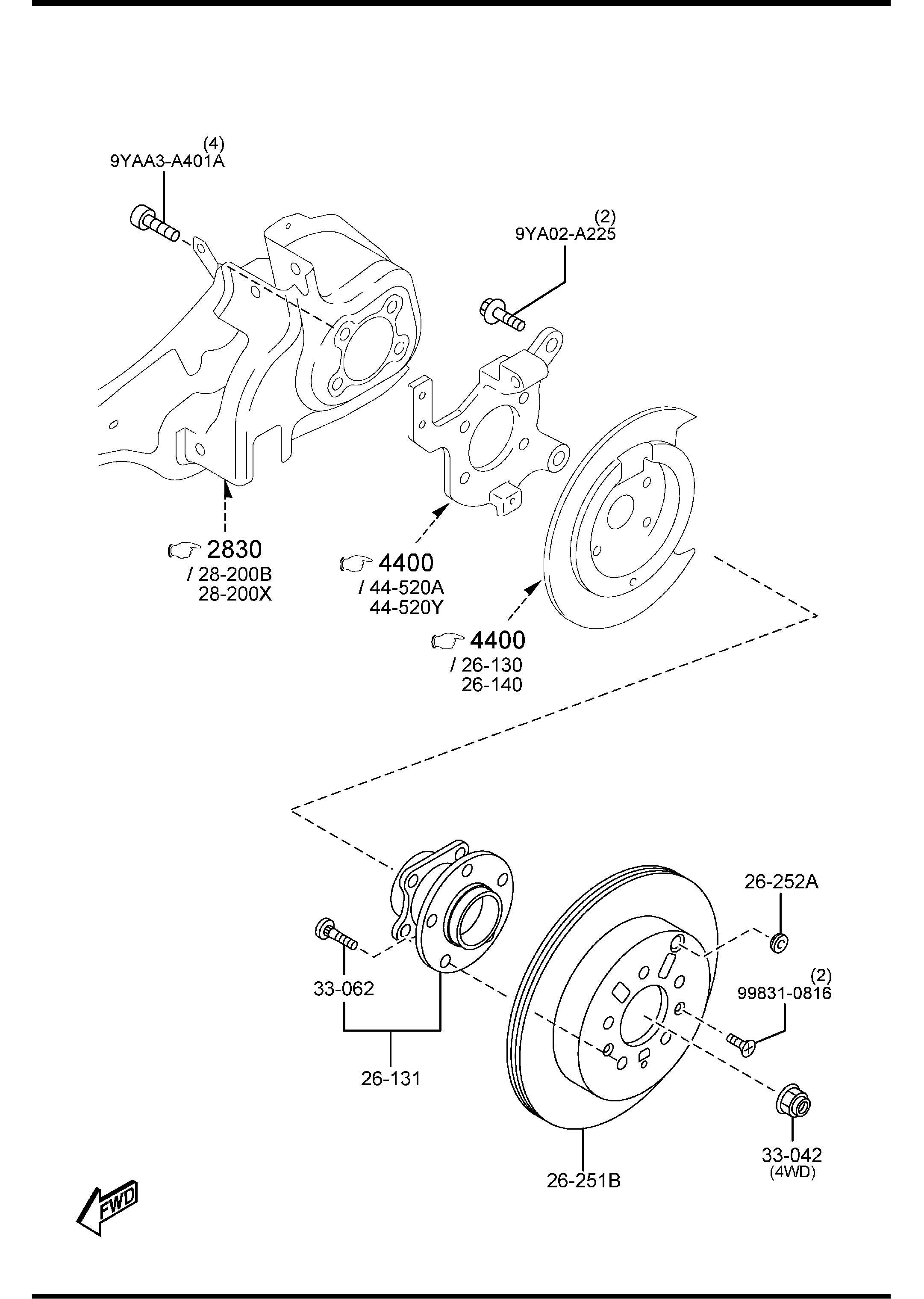 Mazda Cx 9 Bearing Amp Hub