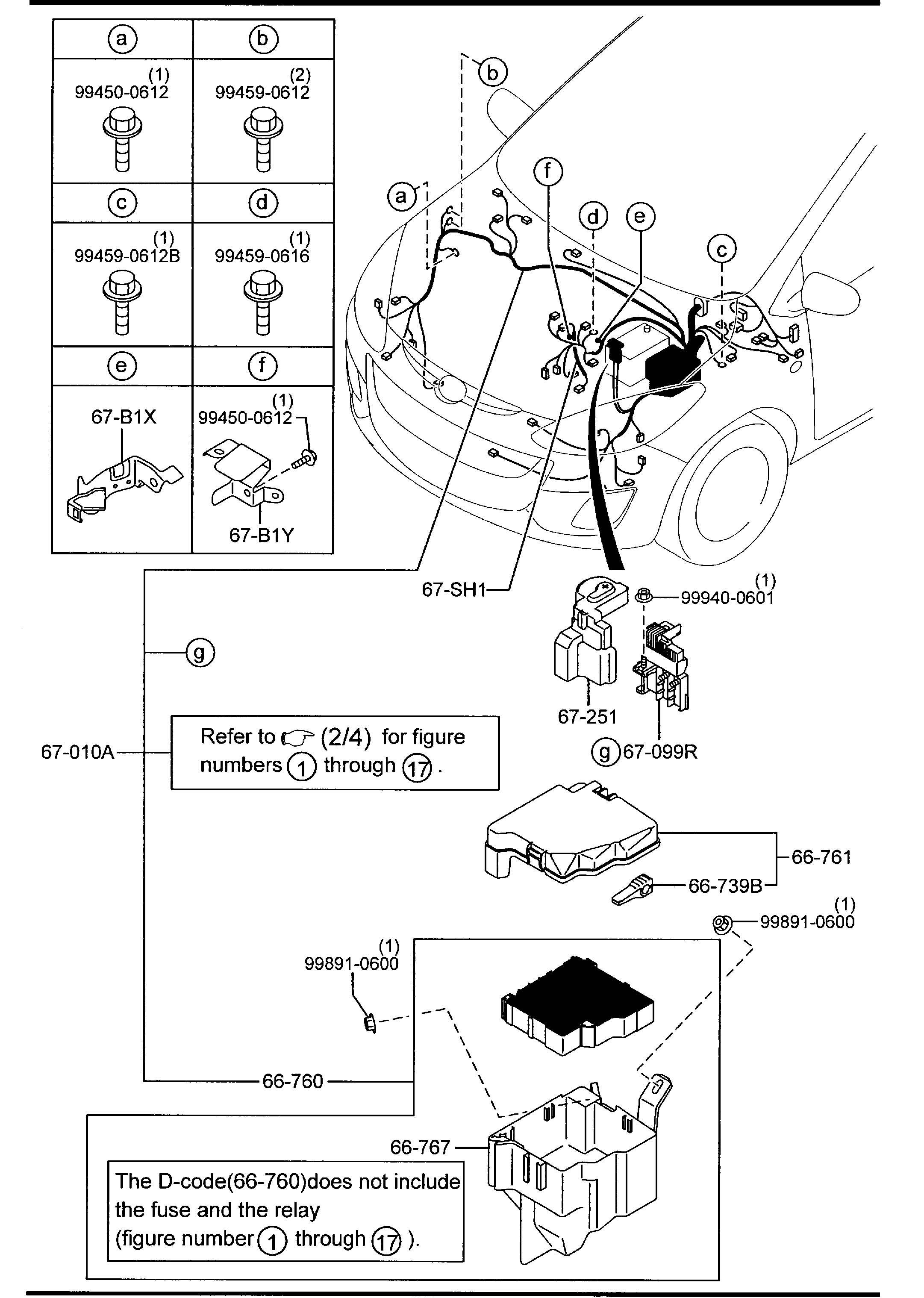 Mazda Cx 9 Relay Blower Typestd