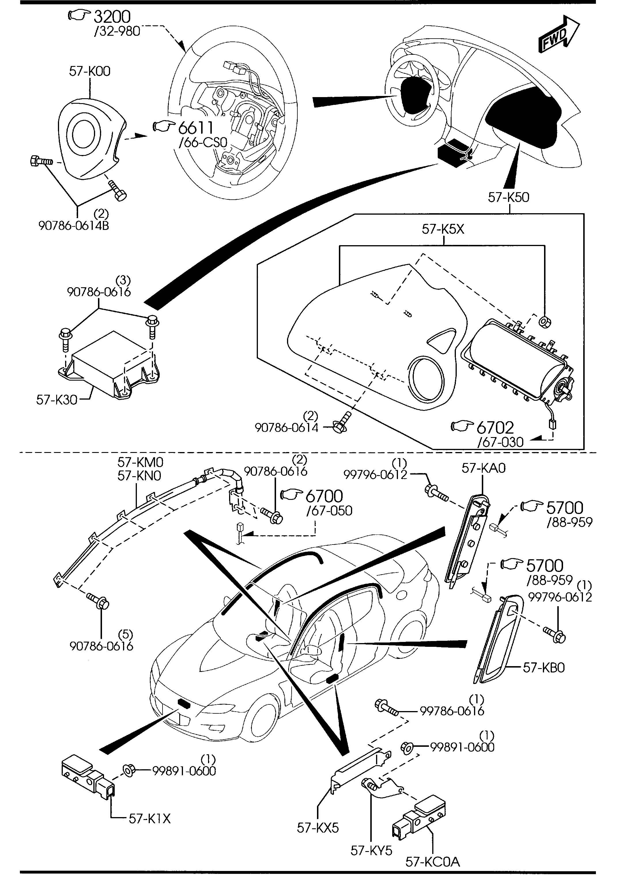 Mazda Rx 8 Diagram