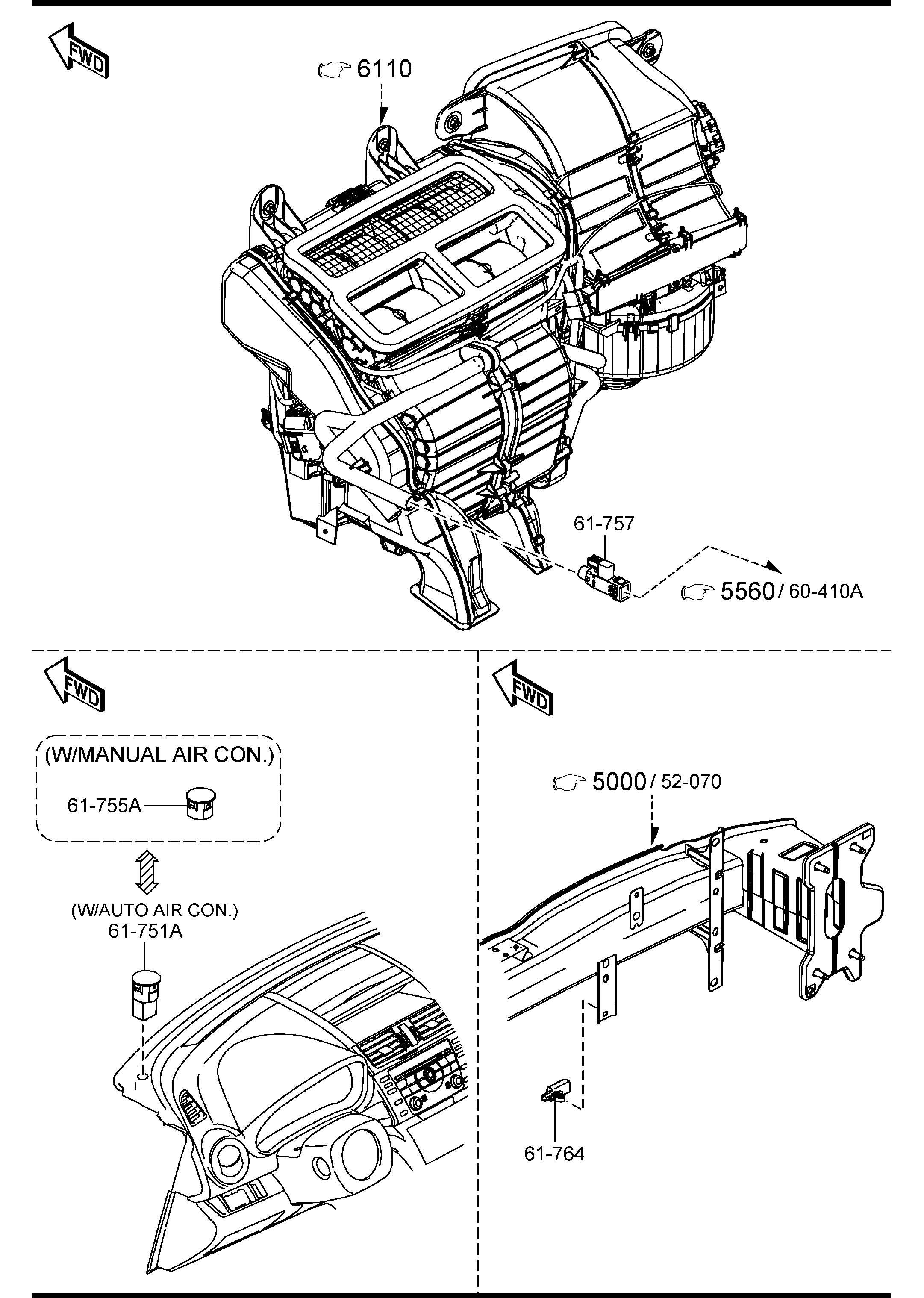 Mazda Mazda 6 Bolt Flange Lines Condenser