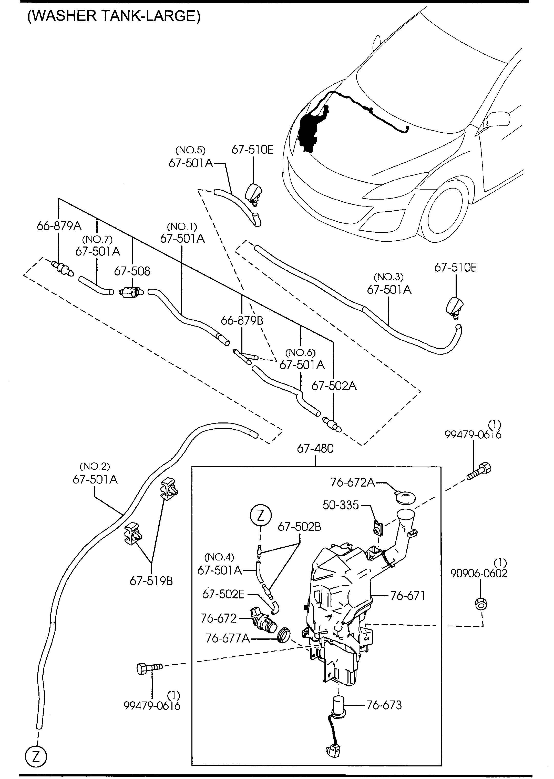 Mazda B Wiring Diagram For Wiper Motor