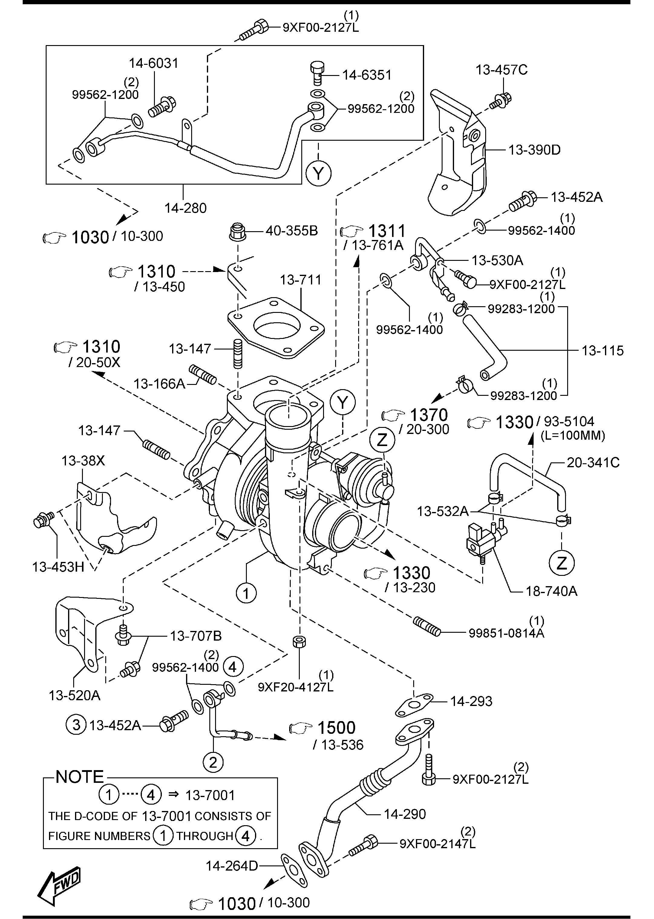 Mazda Mazda 3 Valve Solenoid Charger Induction Forced