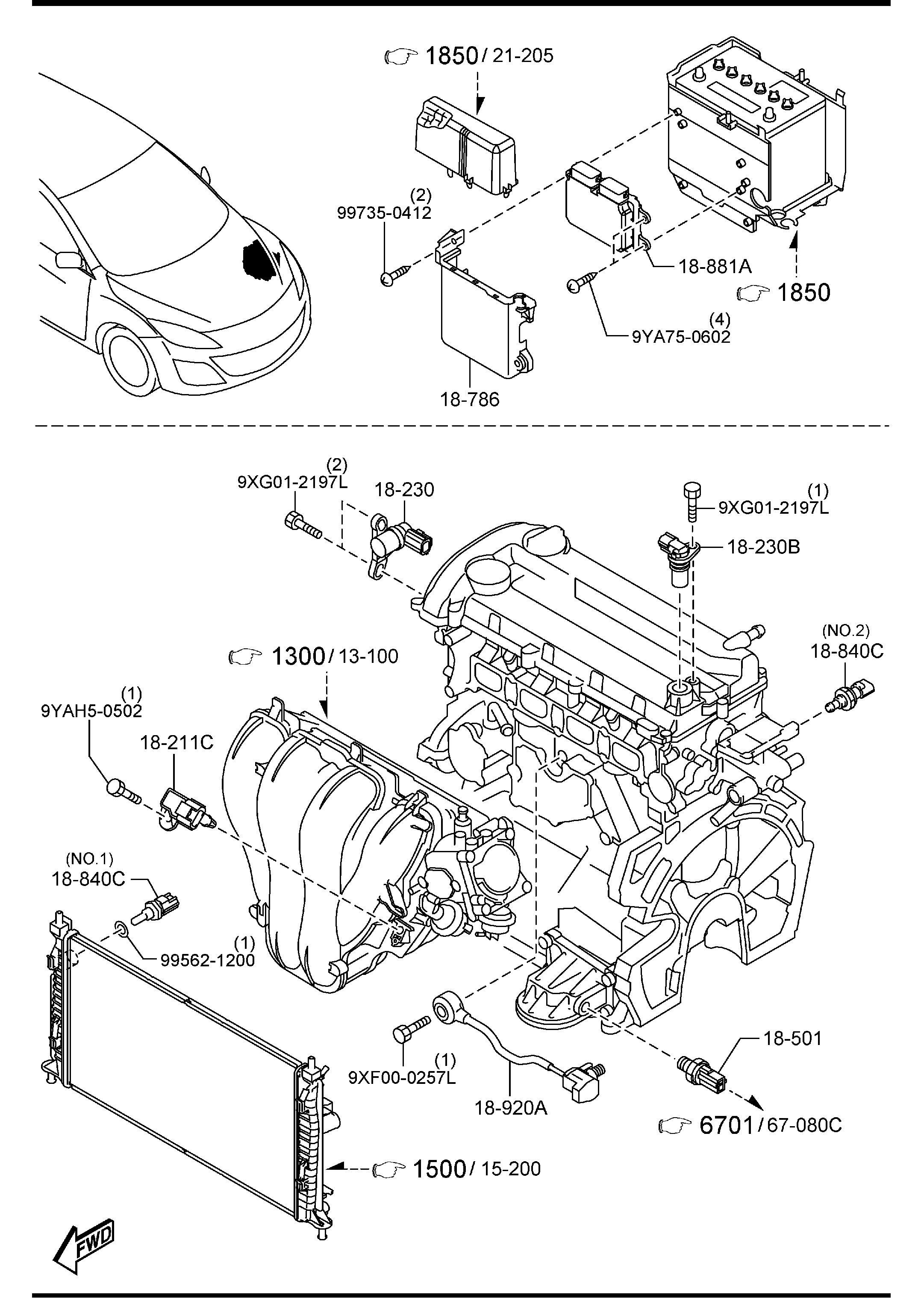 Mazda Module Pwtnt