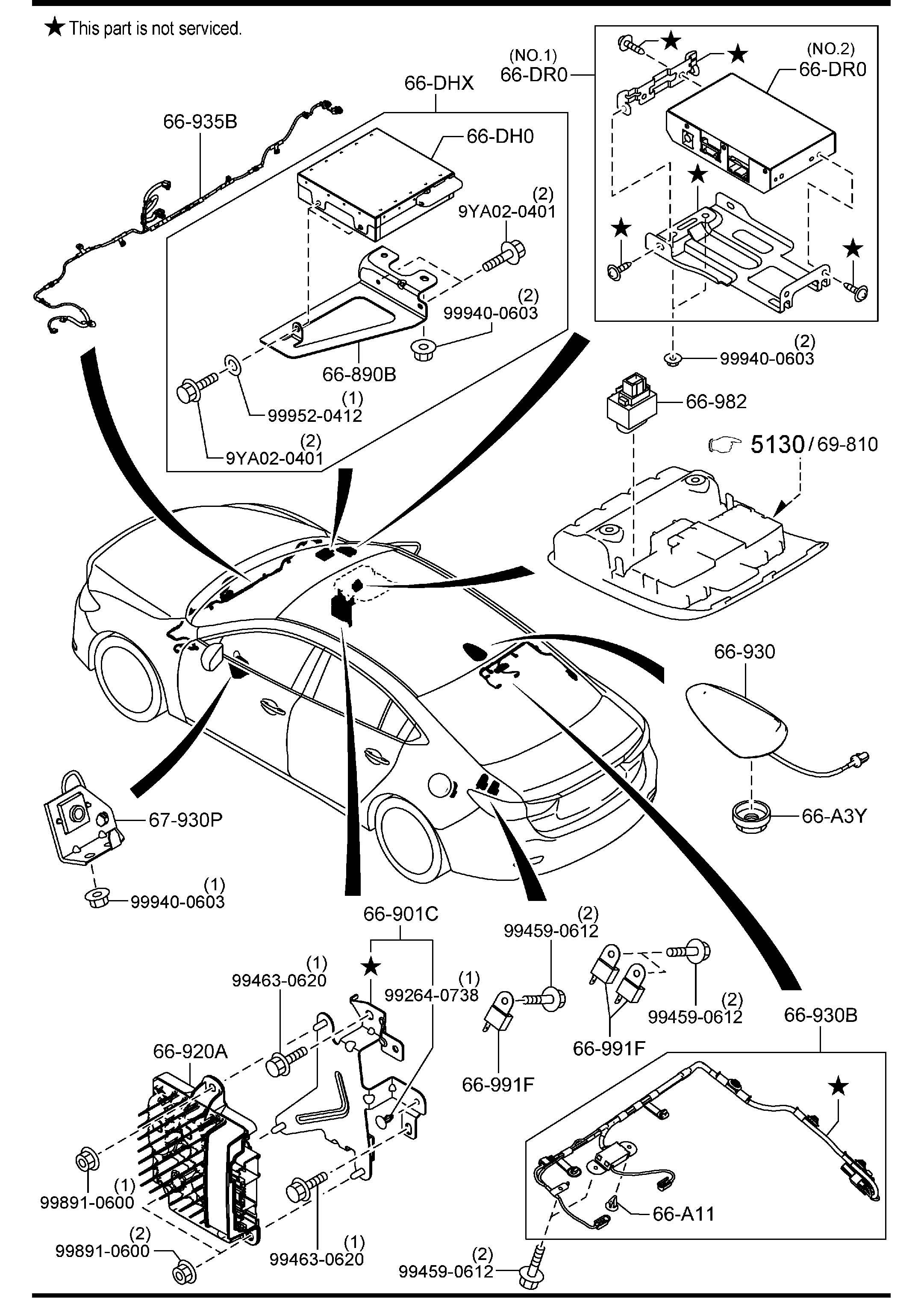 Mazda Mazda 6 Speaker Door