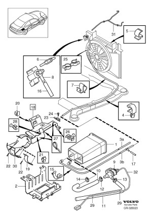 Volvo Xc70 Fuel Filter, Volvo, Free Engine Image For User Manual Download
