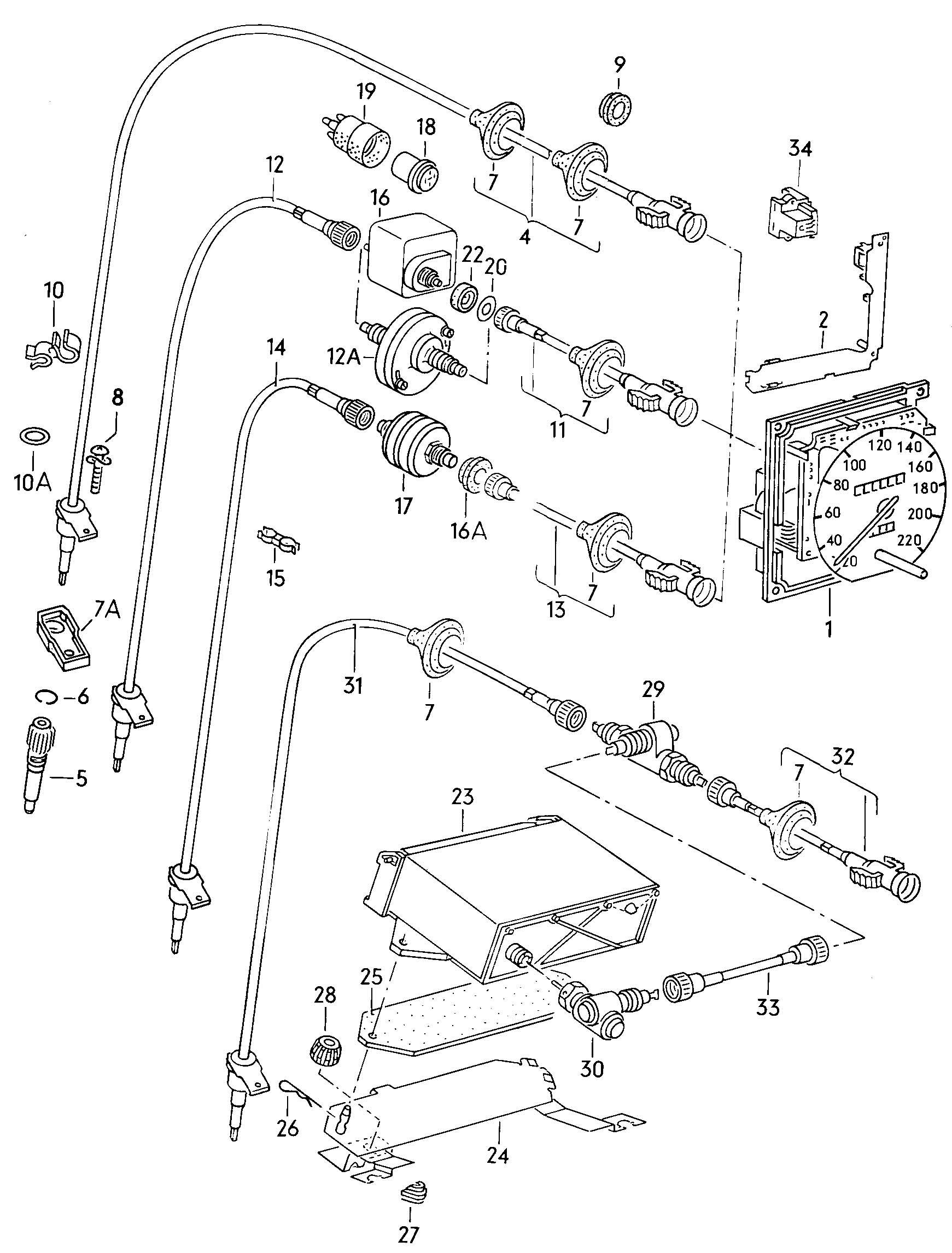 Volkswagen Jetta Catalyst And Speedometer Speed