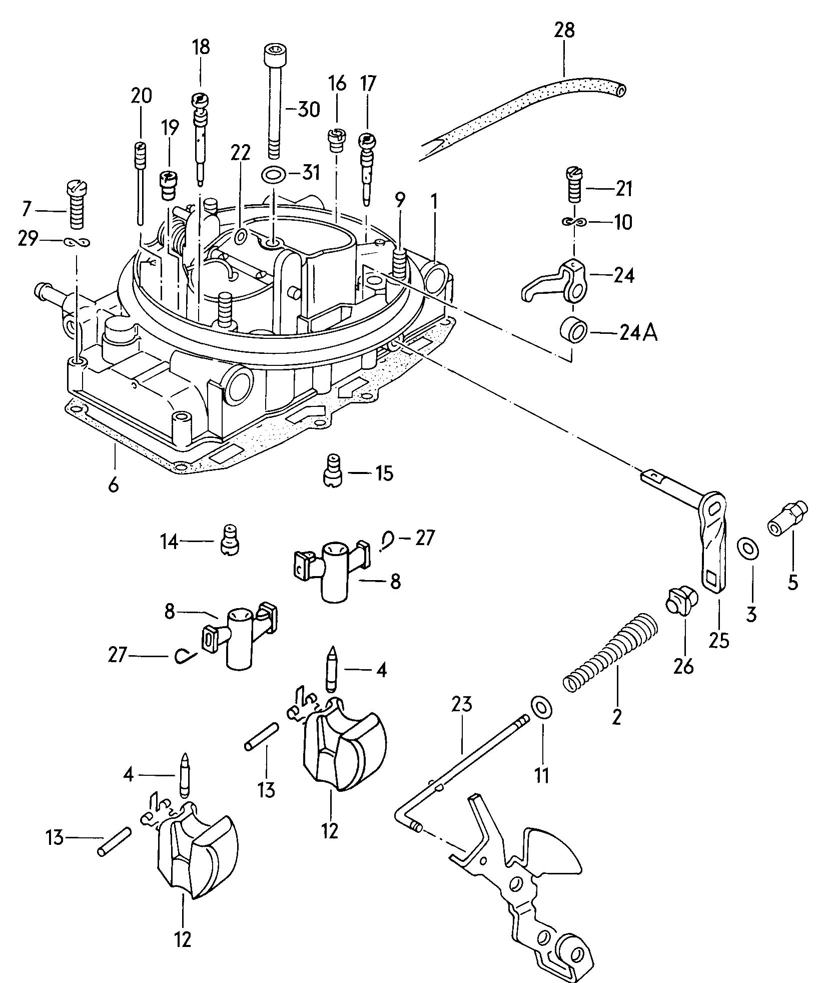 Volkswagen Dasher Wiring Harnesses Rear