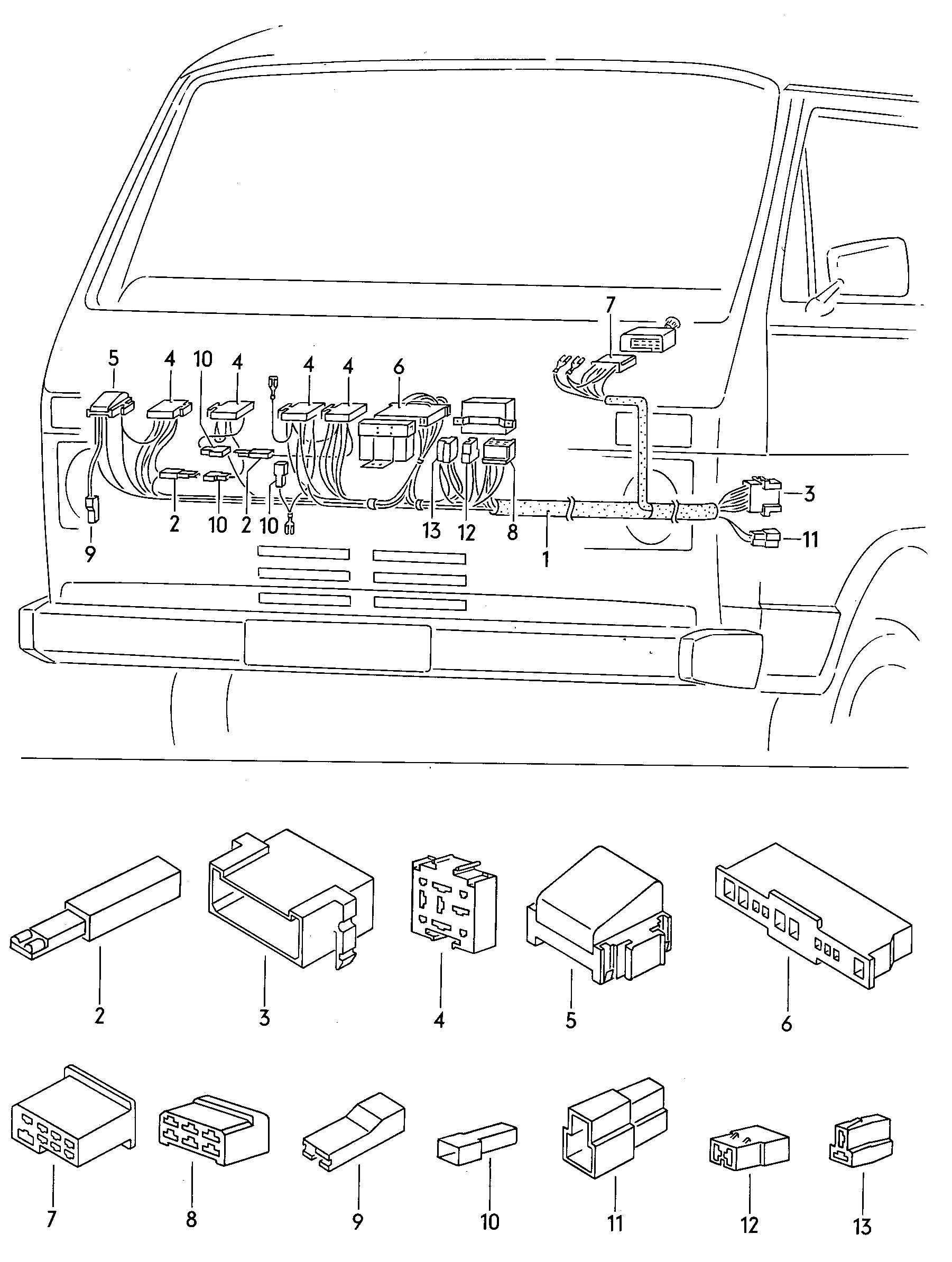 Cavalier Window Switch Wiring Harness