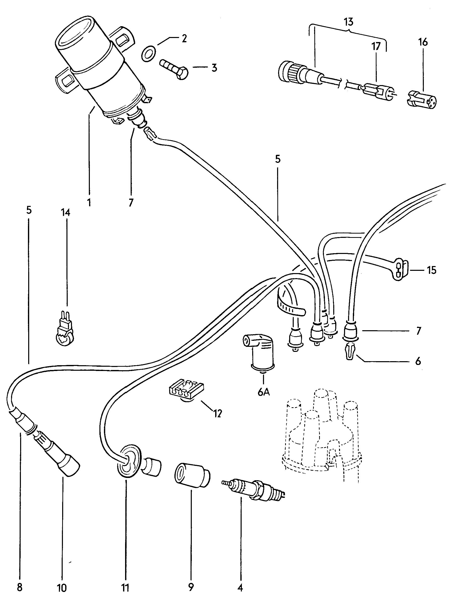 Vw Bug Coil Wiring Diagram