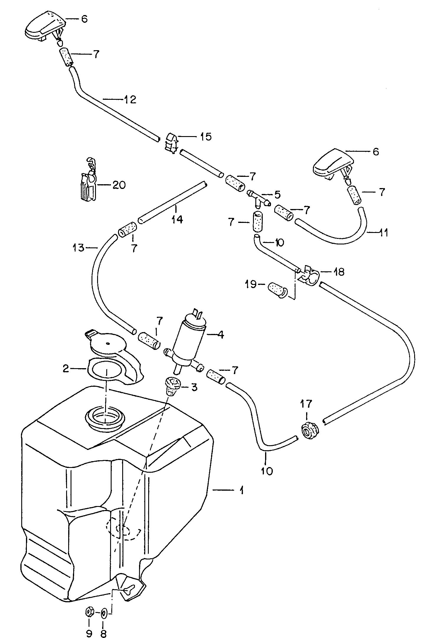 Volkswagen For Vehicles With Central Convoluted