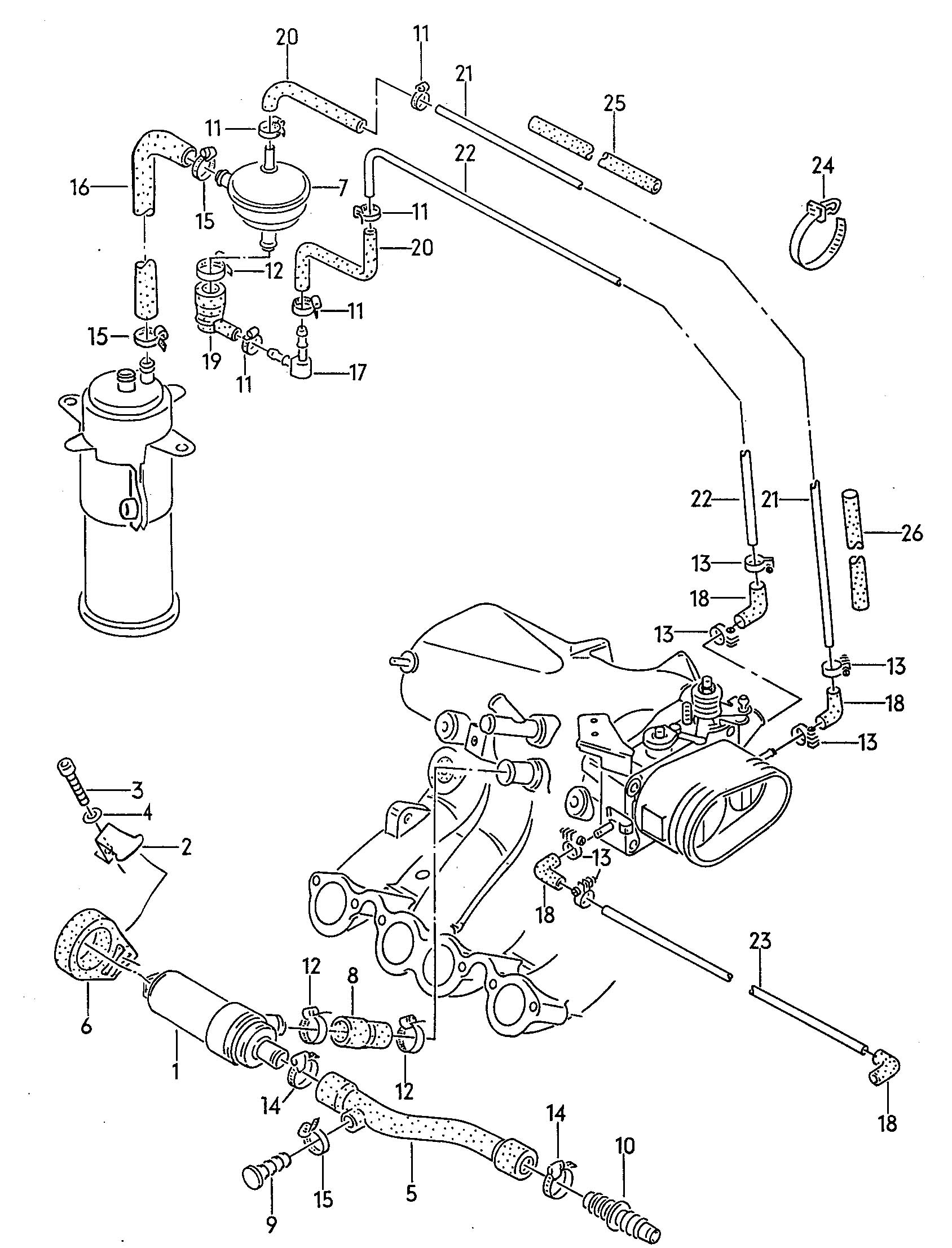 85 Vw Cabriolet Engine