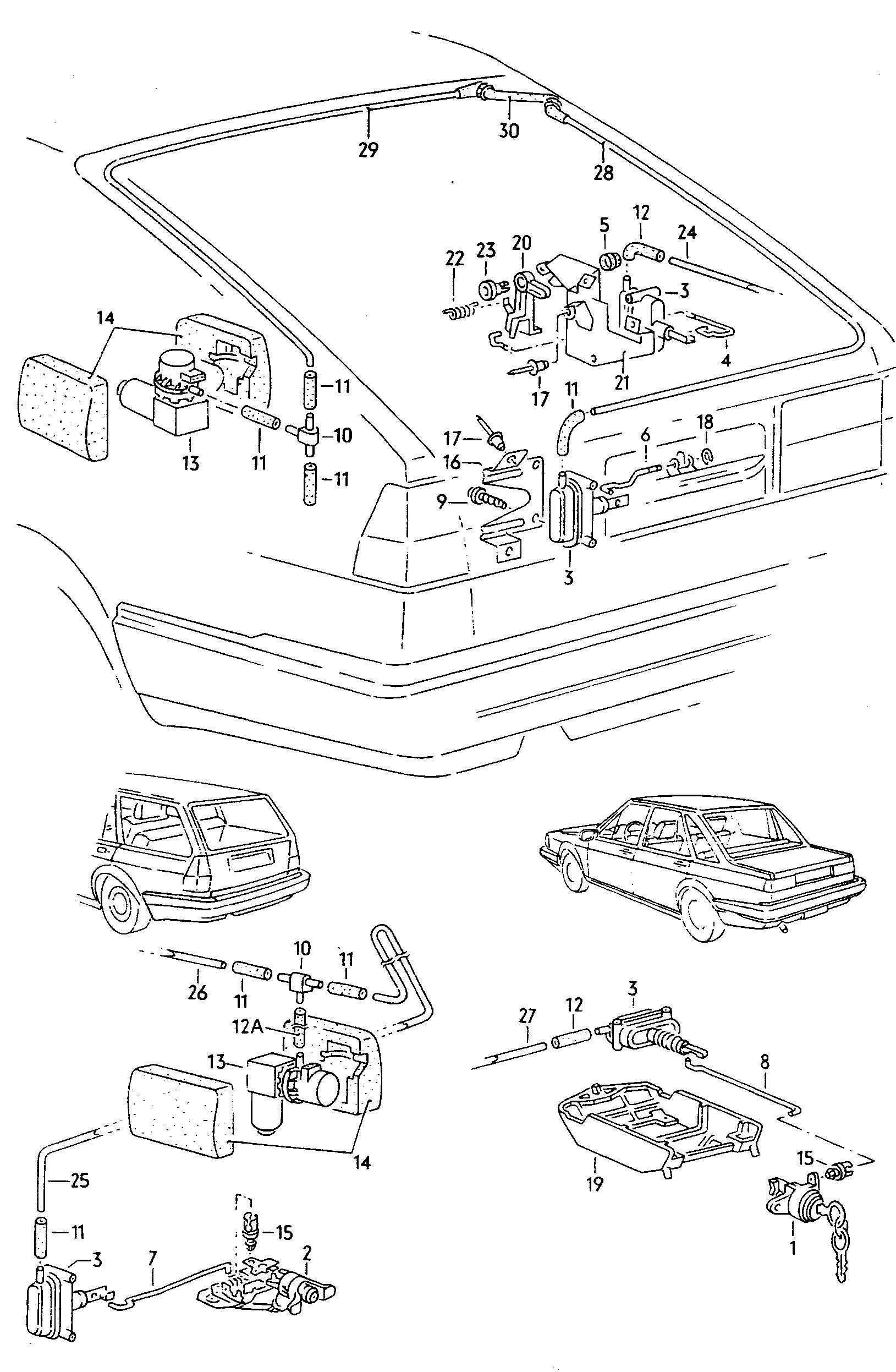 Volkswagen Quantum Syncro For Vehicles With Central