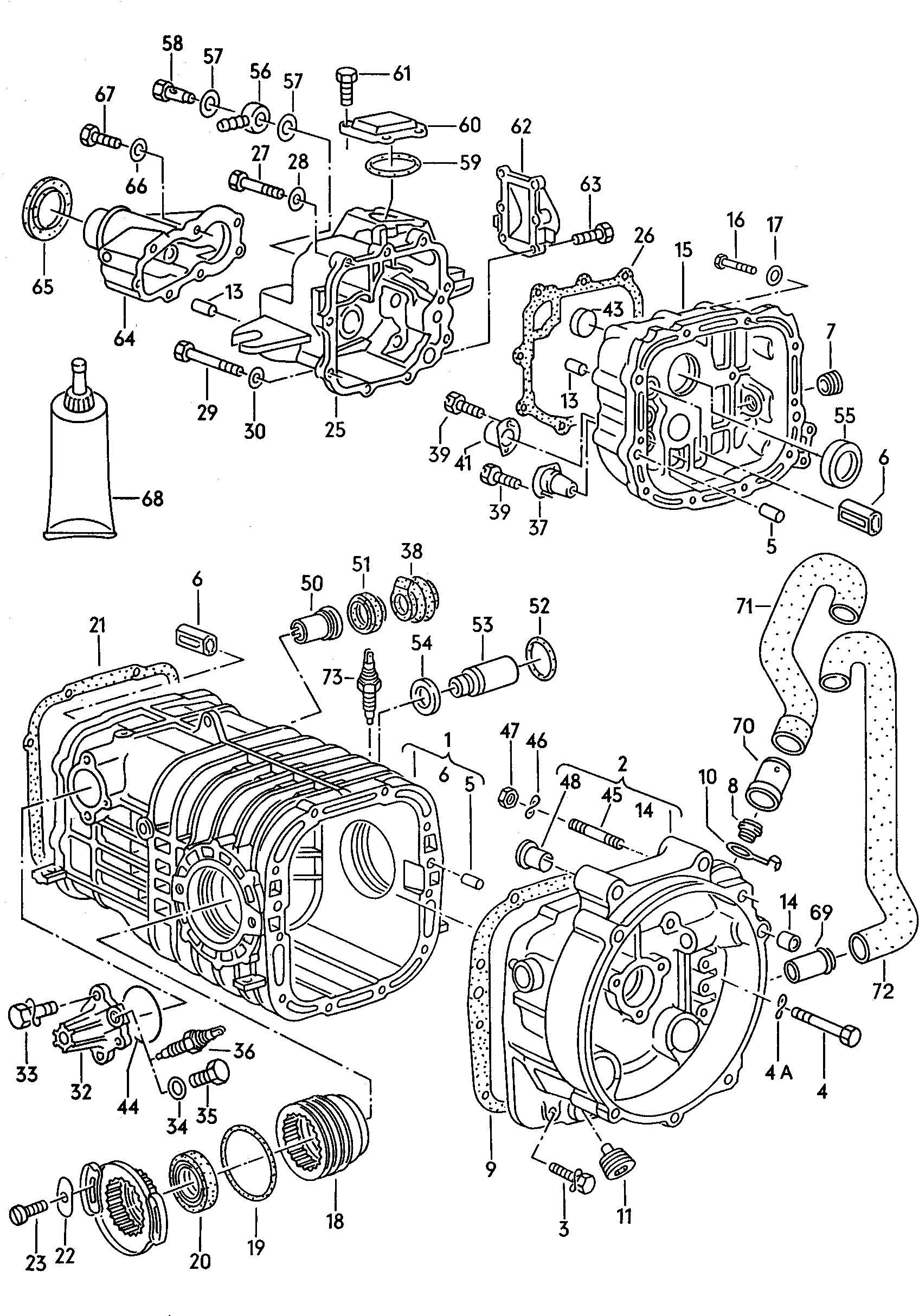 Volkswagen Vanagon Syncro Sleeve
