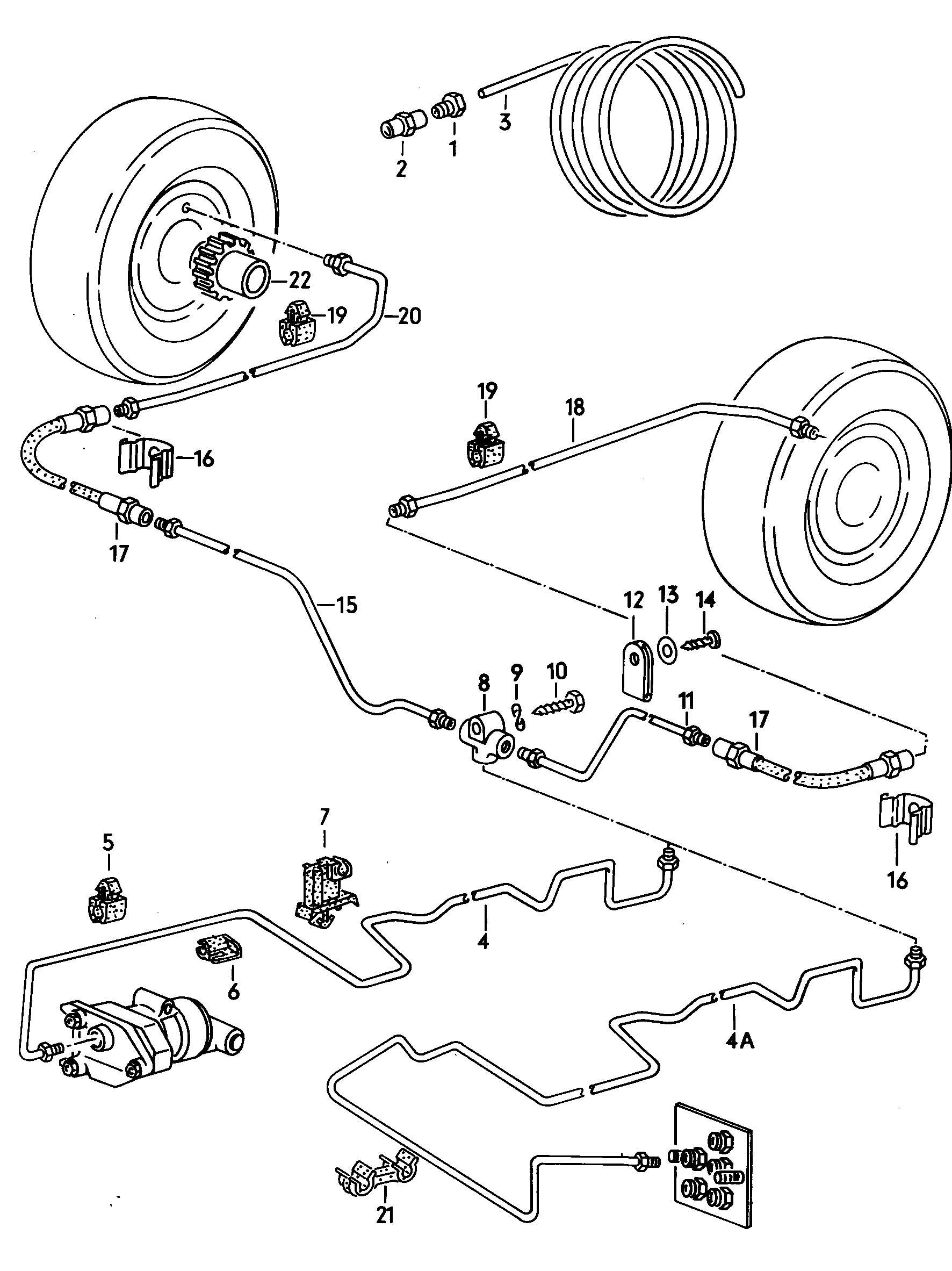 Vw Beetle Brake Parts