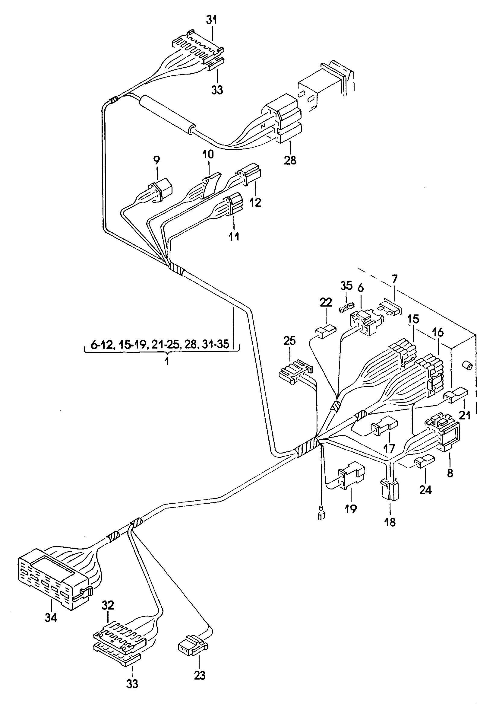 Volkswagen Jetta Loudspeaker Lock Cylinder For Harness For