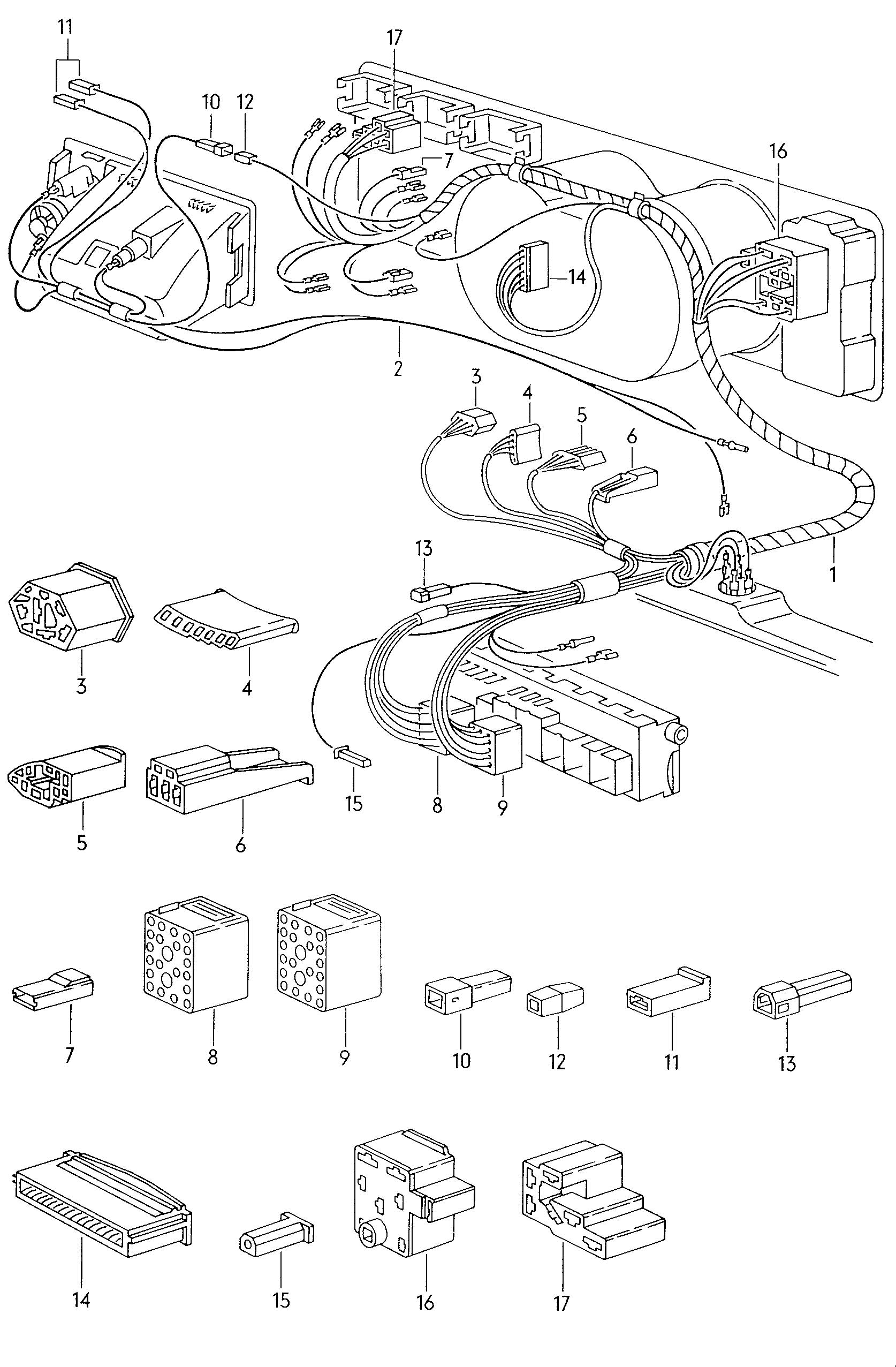 Vw Mk3 Transmission Parts Diagram
