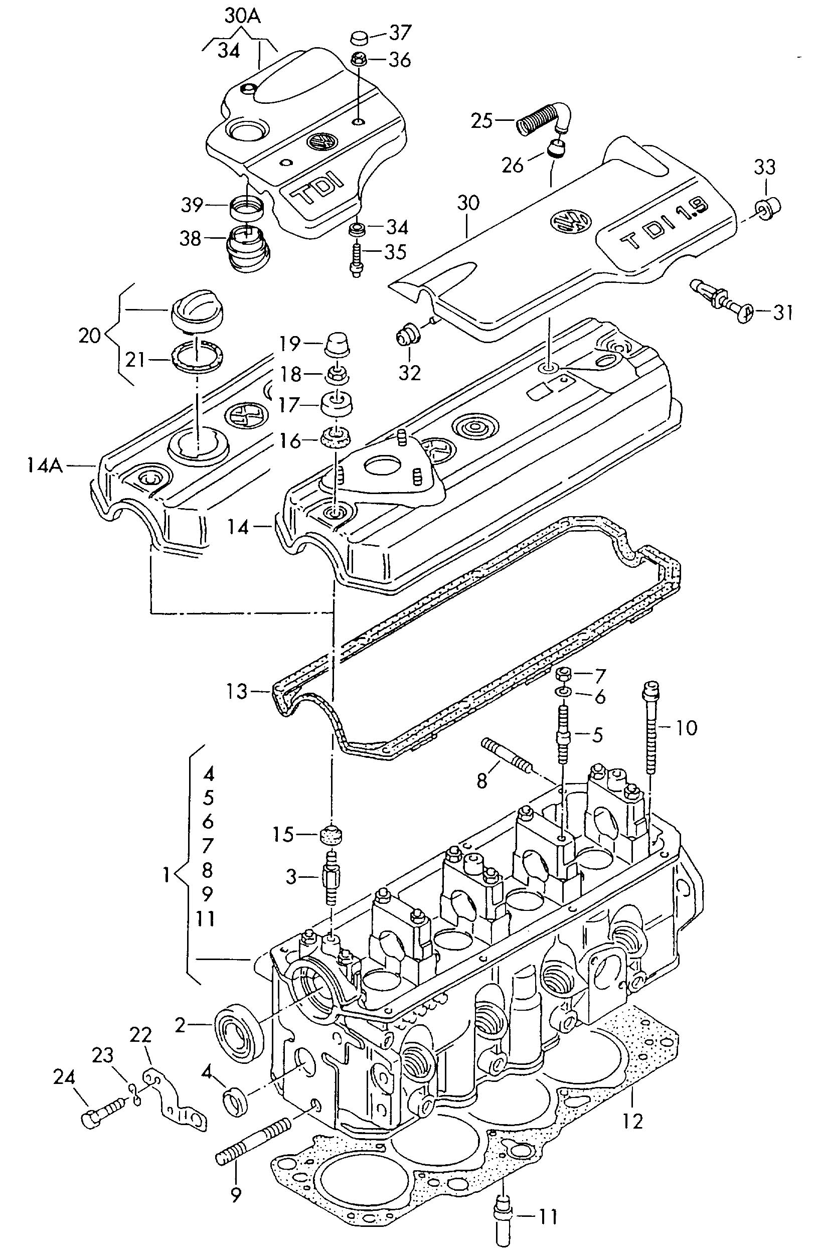 Jetta Engine Diagram